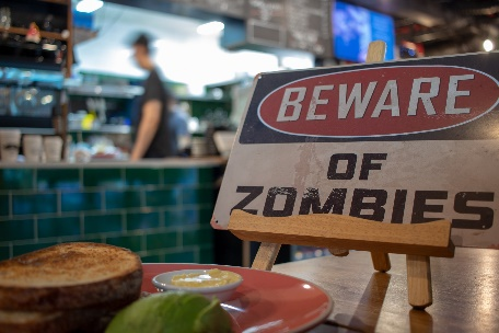 Beware of the Zombies!